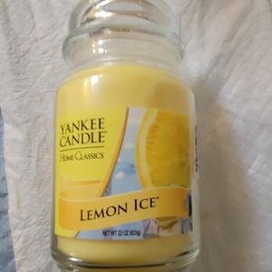 Yankee Candle Accents - New Yankee Candle Lemon Ice!